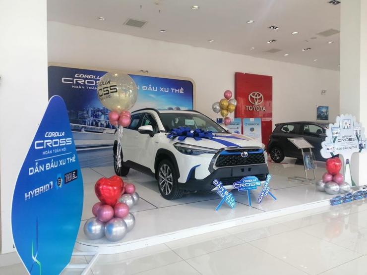 COROLLA CROSS đã có mặt tại Toyota Buôn Ma Thuột